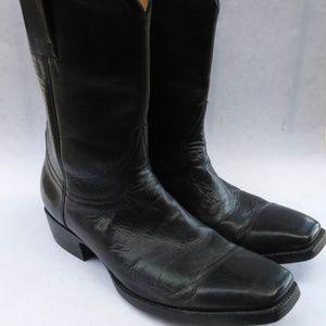 Genuine Old Gringo Black Leather Men's Boots Class